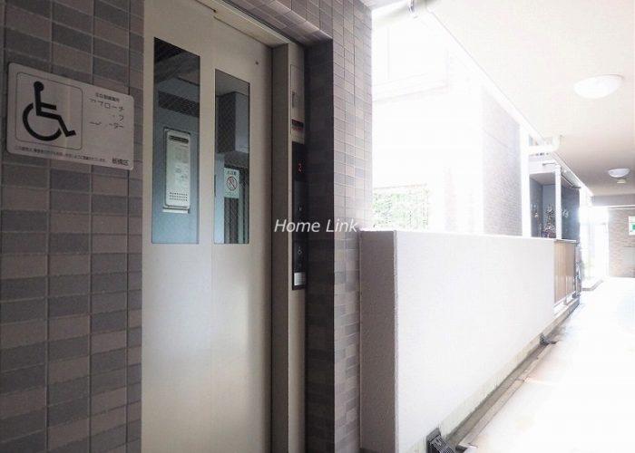 レーベンハイム常盤台南館 エレベーター