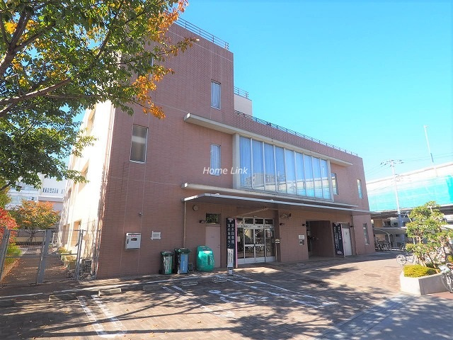 シティコープ本蓮沼周辺環境 区立清水図書館