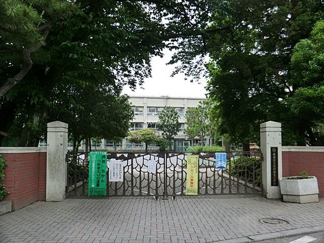 日神パレステージ東武練馬台 東館周辺環境 志村第五小学校