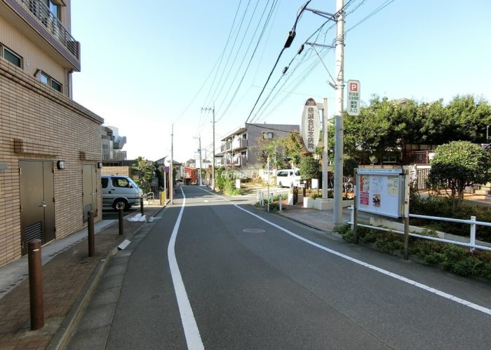 日神パレステージ東武練馬台東館 前面道路