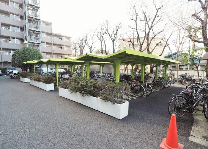東急ドエルアルス成増 駐輪場