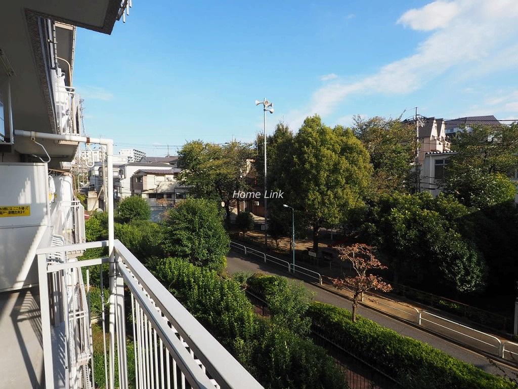 東急ドエルアルス成増3階 バルコニーからの眺望
