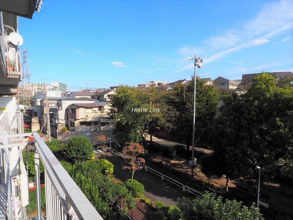 東急ドエルアルス成増4階 バルコニーからの眺望
