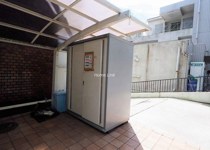 東武サンライズマンション ゴミ置き場