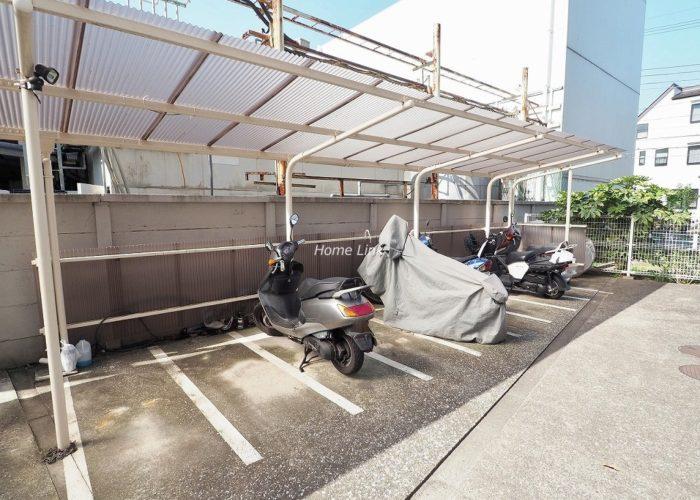 中銀第2城北パークマンシオン バイク置場