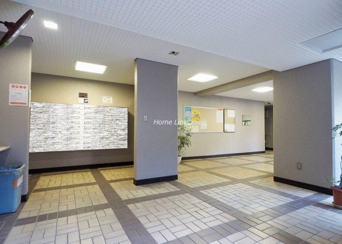 中銀第2城北パークマンシオン エントランスホール