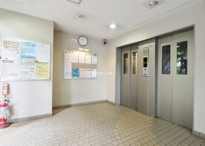 小豆沢パークファミリアA棟 エレベーター