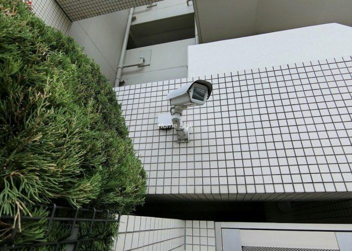 小豆沢パークホームズ 防犯カメラ