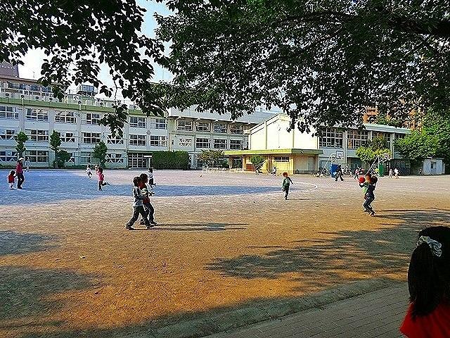 小豆沢パークファミリアA棟周辺環境 志村第四小学校