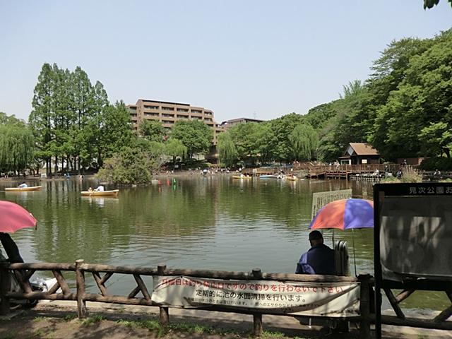シャンボール志村坂上周辺環境 見次公園