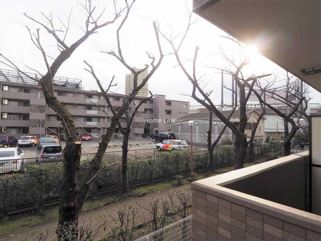 コニファーコート志村弐番館2階 バルコニーからの眺め