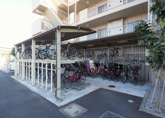 サンクレイドル東武練馬弐番館 駐輪場