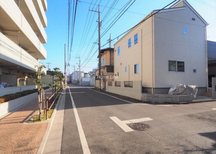 サンクレイドル東武練馬弐番館 前面道路