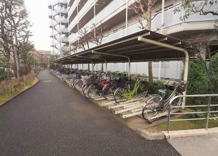 パルシティ徳丸 駐輪場
