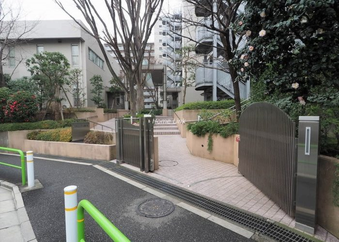 パルシティ徳丸 前面道路歩道
