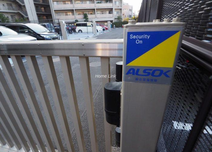 プリズムヒル 駐車場セコム導入