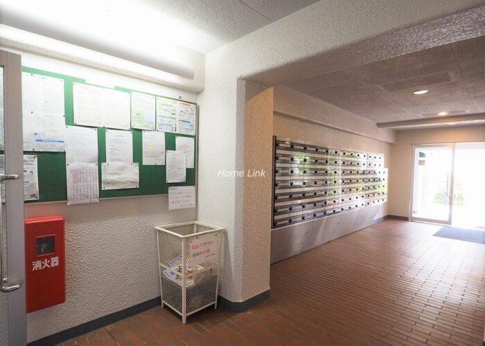 志村スカイハイツ エントランスホール