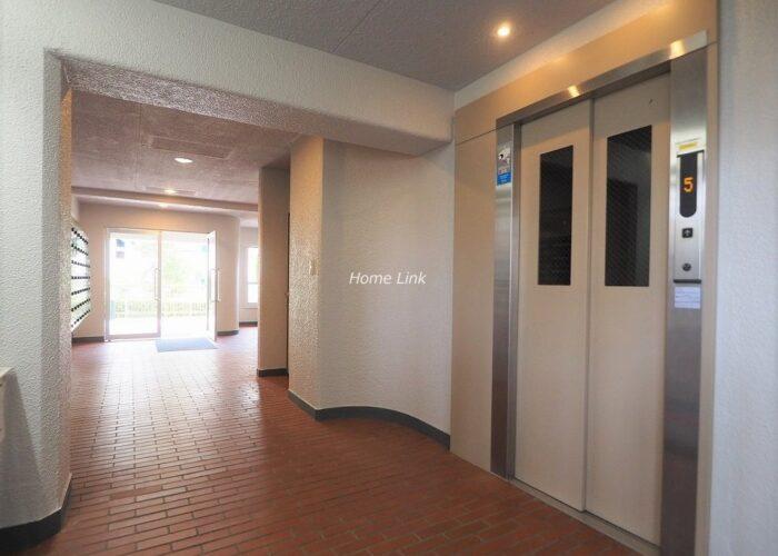 志村スカイハイツ エレベーターホール