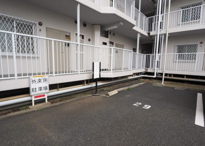 志村スカイハイツ 来客専用駐車場