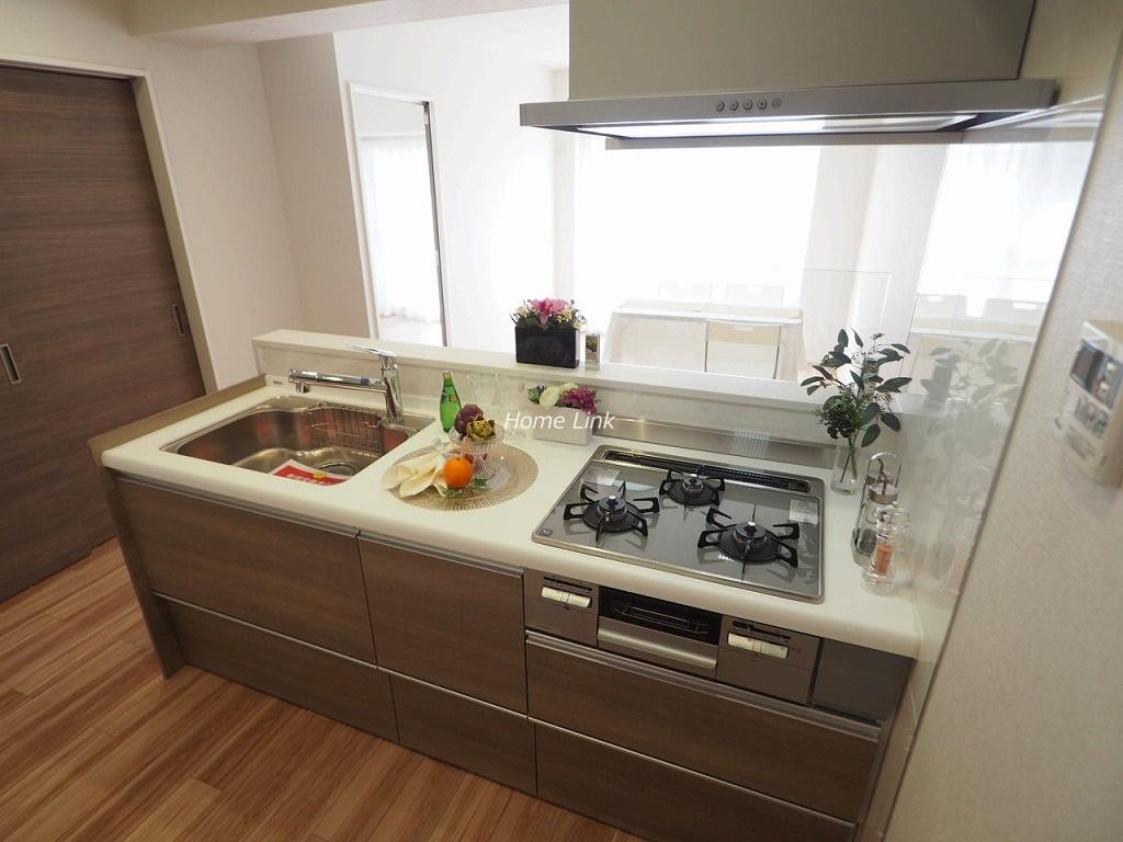 志村スカイハイツ6階 フルオープン対面キッチン