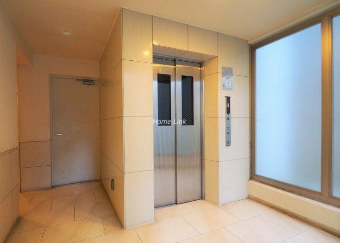 グランボア四葉の丘 エレベーターホール