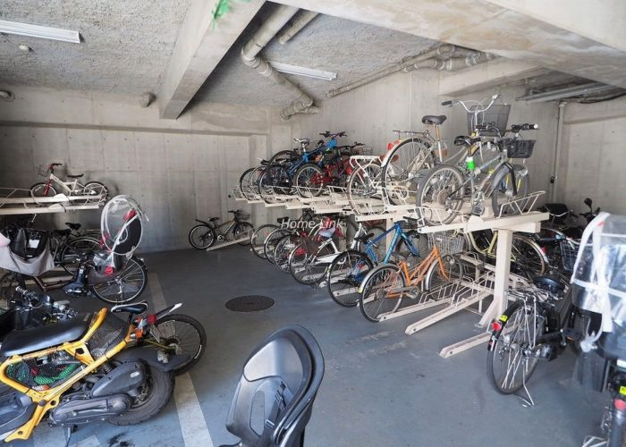 グランボア四葉の丘 駐輪場