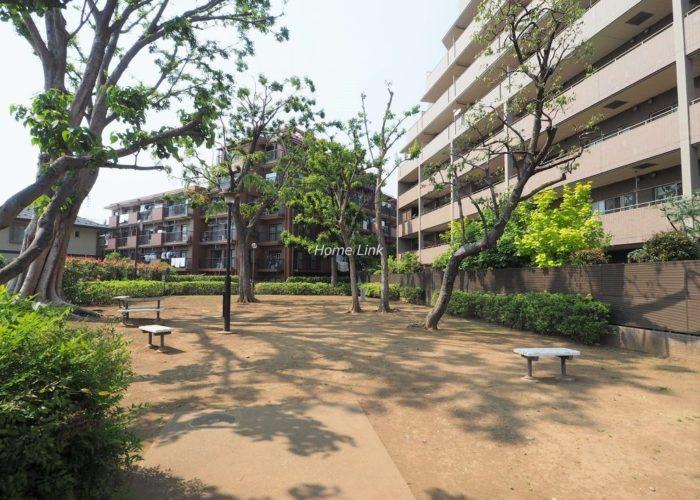 コスモ小竹向原ガーデンフォルム 隣接する区立いこいの森