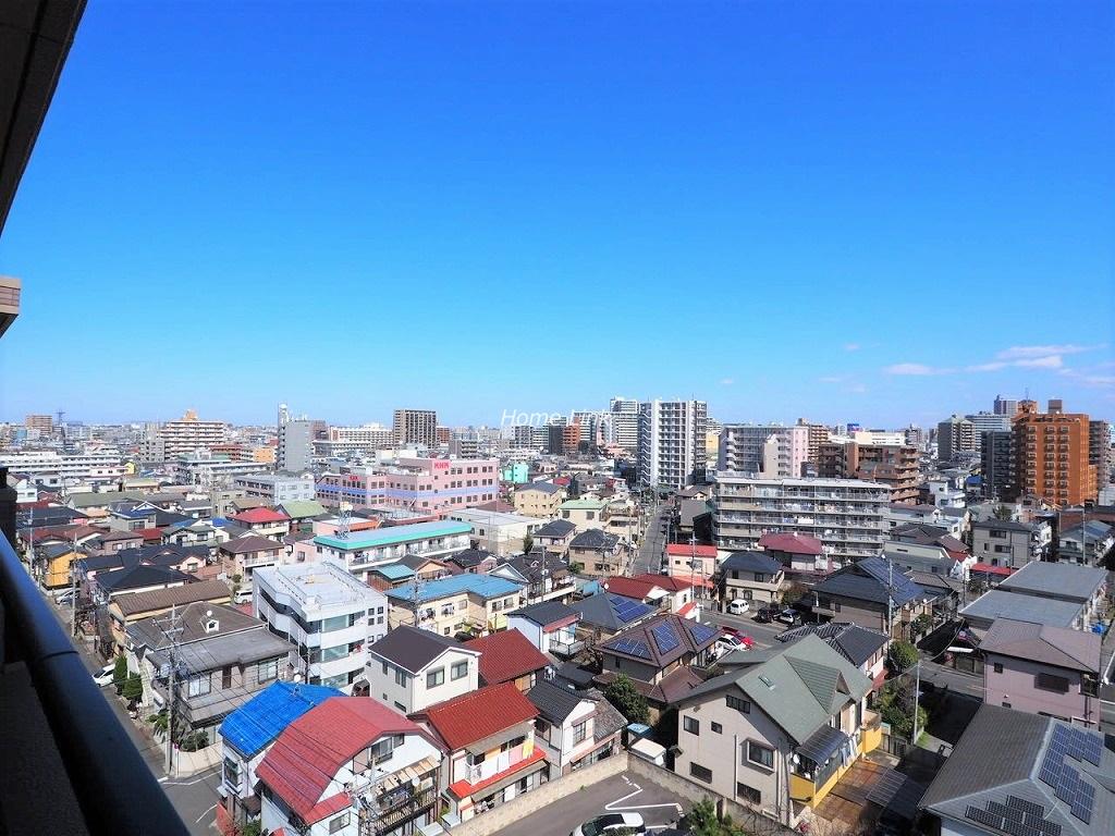 コスモ川口ガーデンスクエア10階 10階からの眺望