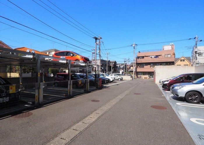 コスモ川口ガーデンスクエア 機械式駐車場