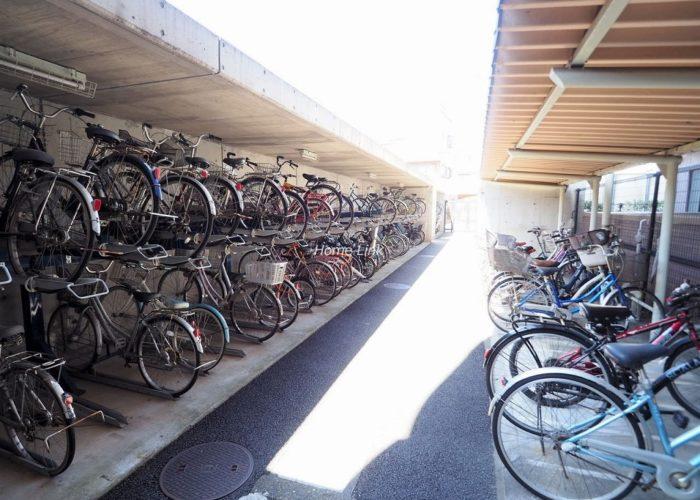 コスモ川口ガーデンスクエア 駐輪場