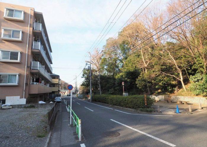サングリーン赤塚の郷 前面道路