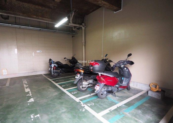 ダイアパレス西台 バイク置場
