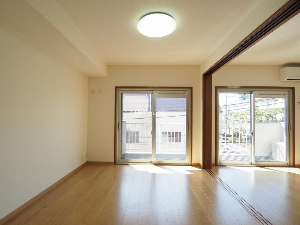 三田南常盤台コーポ3階 南バルコニーでとても陽当たりがいい住戸