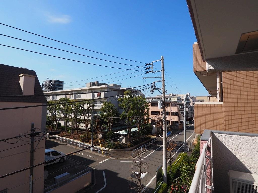 三田南常盤台コーポ3階 遮る建物もなく陽当たり良好