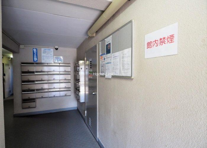 三田南常盤台コーポ エントランス