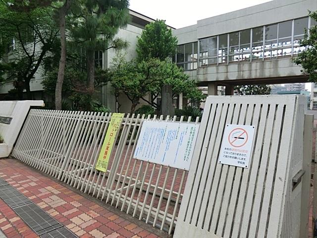 第1上板橋サンライトマンションAH棟周辺環境 上板橋第四小学校