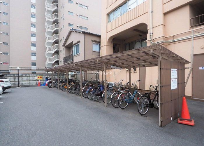 志村ハビテーション 駐輪場