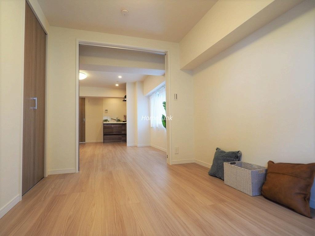 志村ハビテーション5階 洋室4.5帖とリビングを開放