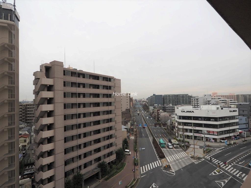 志村ハビテーション9階 最上階からの眺望