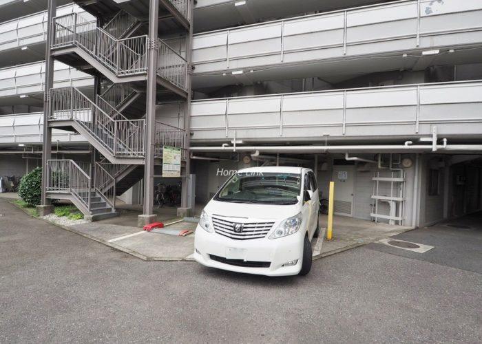 第1上板橋サンライトマンションAH棟 来客用駐車場