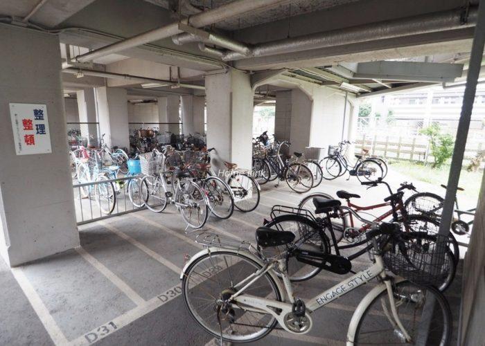 第1上板橋サンライトマンションAH棟 駐輪場