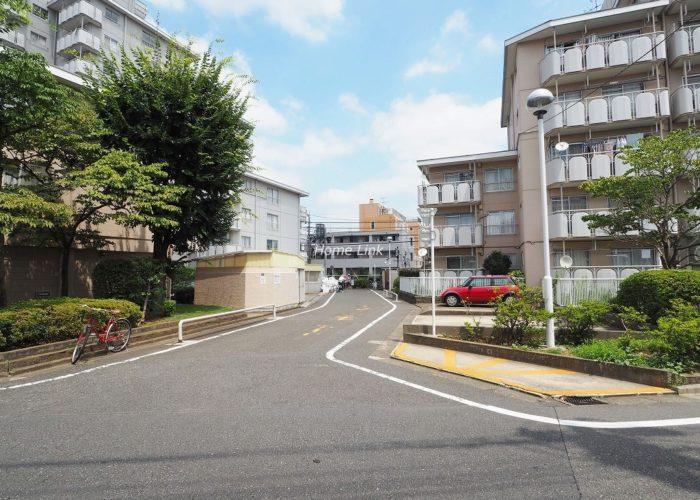第1上板橋サンライトマンションB棟 前面道路