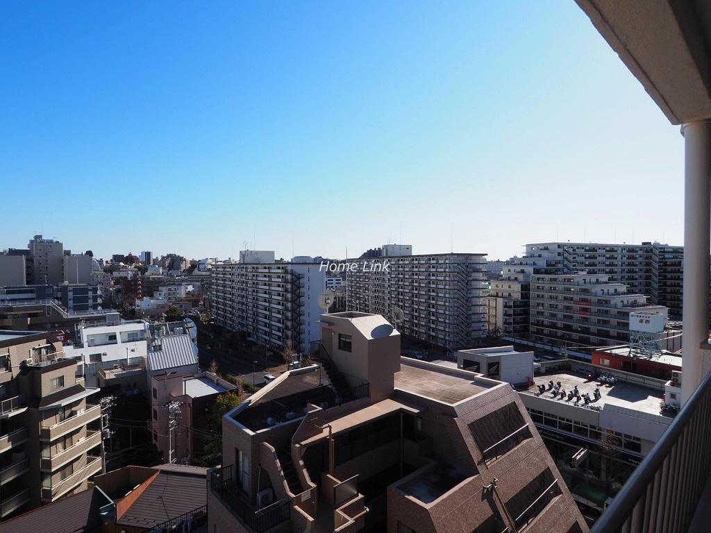 ウィスタリアマンション板橋志村10階 南向きで陽当たりも眺望もとてもよいお部屋