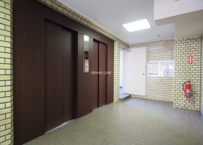 ウィスタリアマンション板橋志村 エレベーターホール