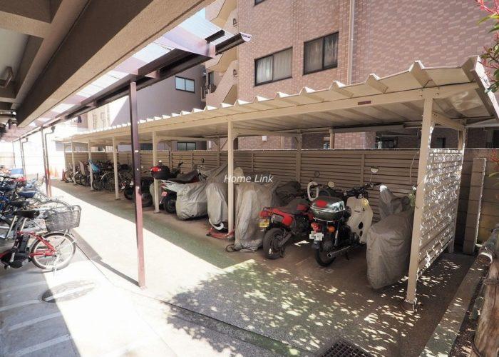 ウィスタリアマンション板橋志村 バイク置場