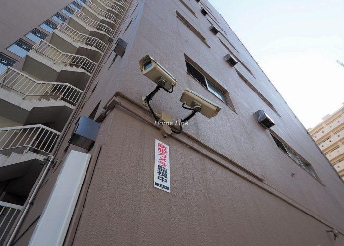 ウィスタリアマンション板橋志村 防犯カメラ