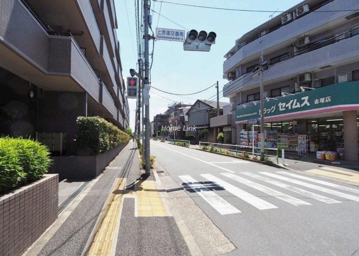 コスモ成増グランヒル 前面道路