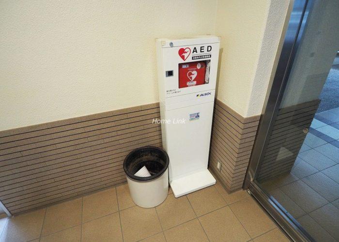 サンシティJ棟 AED設置