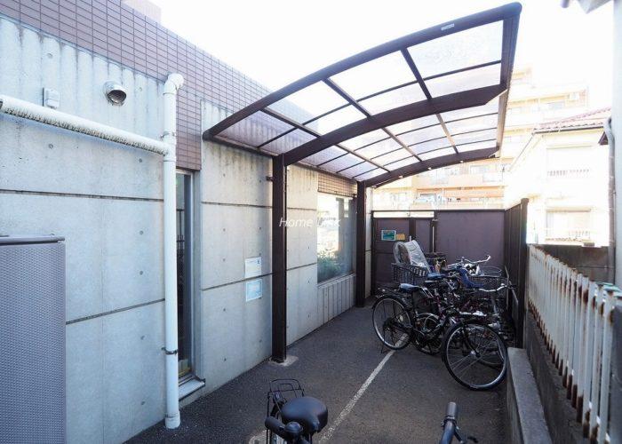 サンライフ東武練馬 駐輪場