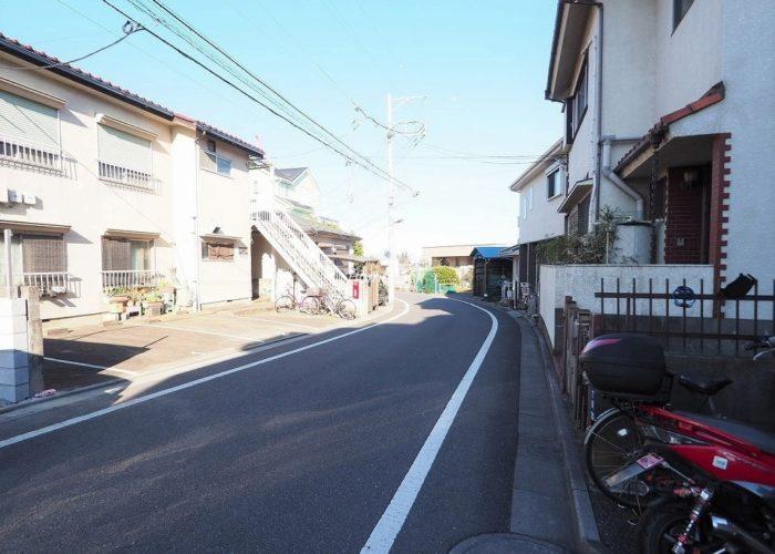 サンライフ東武練馬 前面道路